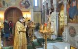 Митрополит Антоний совершил Божественную литургию в Екатерининском храме г.Рима