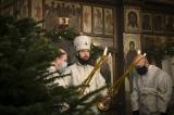 Митрополит Корсунский и Западноевропейский Антоний совершил Божественную литургию в Трехсвятительском храме в Париже