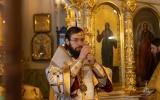 В день 12-летия Интронизации Святейшего Патриарха Кирилла митрополит Антоний совершил Божественную литургию и благодарственный молебен