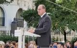 Настоятель Никольского собора в Ницце принял участие в траурной церемонии памяти жертв теракта на Английской набережной