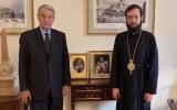 Состоялась встреча митрополита Антония и Посла Российской Федерации в Ватикане